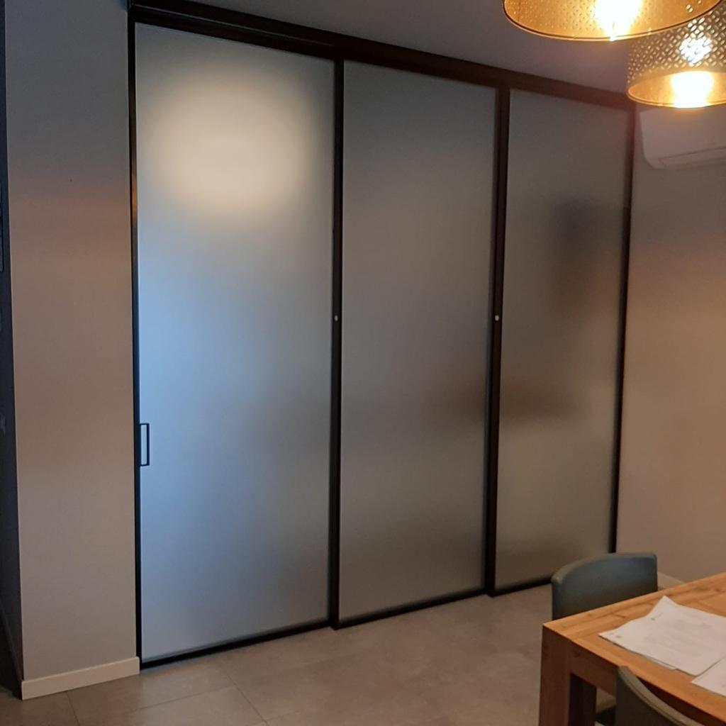 Sistemi di Design in vetro e alluminio Plana - Bertolotto Porte